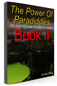 Paradiddle Book 2 Cover