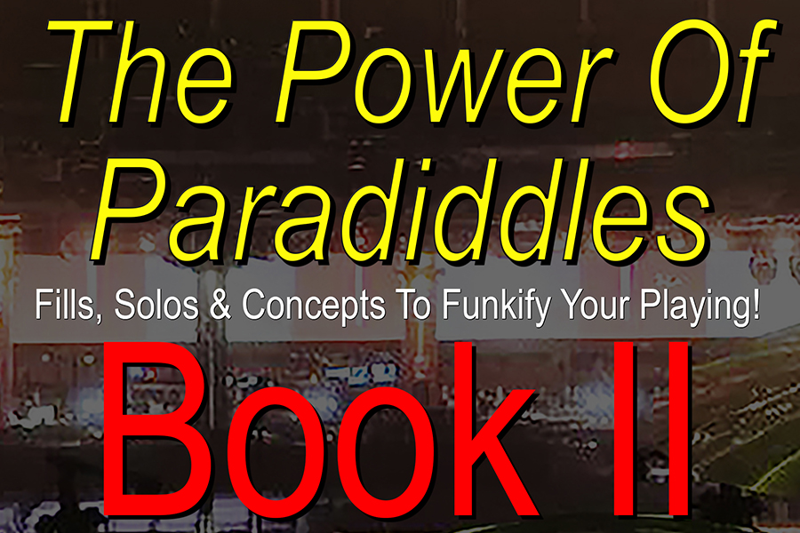 Nick Carter Drums – The Power Of Paradiddles – Book 2