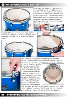 Nick Carter Drums - From Practice To Performance - Book 1 - P21