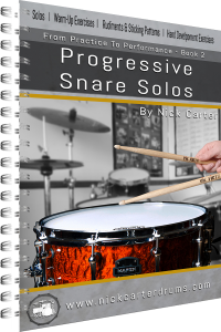 Nick Carter Drums - Progressive Snare Solos